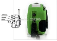 Wholesale Crank Up Battery radio receiver solar charger with led lamp receiver satellite charger fujitsu charger fujitsu