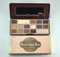 Wholesale HOT Makeup Chocolate Bar Eyeshadow semi sweet Palette Color Eye Shadow plates gift
