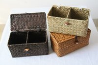 Wholesale 2016 Single product groceries With cover two boxes cosmetics boxes Tea boxes Grass is made gift The tea gift box