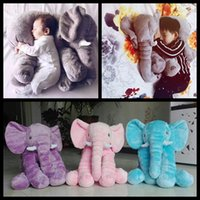 beds for dolls - cm Animal Elephant baby Doll colors children christmas gift Stuffed Elephant Plush Pillow Kids Toy for Room Bed Decoration