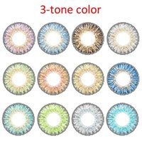 Wholesale 12 color contact lenses classic colored contact lens eye makeup colored contacts pieces pair
