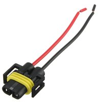 Wholesale H8 H11 Female Adapter Wiring Harness Socket Car Auto Wire Connector Cable Plug For HID LED Headlight Fog Light Lamp Bulb