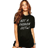 Wholesale New York Simple Look Style Graphic Vintage Womens T shirts Short Sleeves