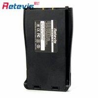 2Pcs Vente Hot BF-888S Retevis H777 Batterie Li-ion DC 3.7V 1500mAh pour Walkie Talkie Retevis H777 Baofeng 888S Deux Radio Way RU