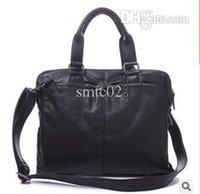 Wholesale Men briefcase new soft leather handbags men s casual bag shoulder messenger bag