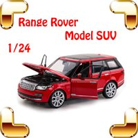 Wholesale Hotsale Gift Rastar Range Rover SUV Model Car Metal Alloy Collection Toy Car Fans Decoration Detail Scale Model Jeep Diecast Cars