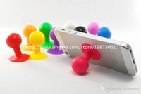 Silicone ball bracket - Stents Silicone Iitand Octopus Ball Design Stents Bracket Holder Stand Cases for Apple iPhone Plus Samsung HTC