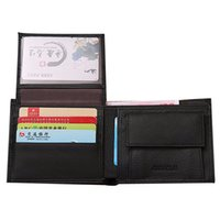 barrel machines - eather jacket washing machine Top Fashion Men Wallets Famous Brand Genuine Leather Coin Wallet Solid Short Card Holder Purses Coins