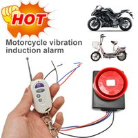 Wholesale Sensor anti theft Alarm for motorcycle and Electric motor car with wireless remote