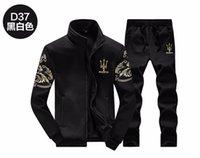 Wholesale Autumn Full Sleeve Men Set Hoodies Sport Tracksuit For Mens Sweat Suits Sweatshirts Man Jogging Jogger Chandal Hombre D37