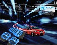 Wholesale Aluminium Alloy Non slip Car Auto Vehicle Accelerator Brake Throttle Foot Pedal Cover Pad