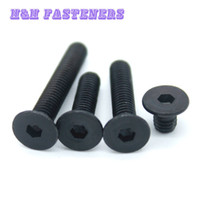 Wholesale M2 Thread Dia mm Carbon Steel Flat Head Socket Screws Countersunk Bolt