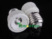Wholesale Freeshipping E27 to GU10 Adapter LED Light Lamp Bulbs Base Screw Socket Plug Converter gu10 lamp socket