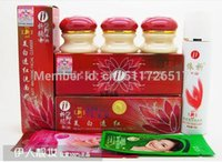 Wholesale 2016 New Hot EMS MOQ Sets ABC YiQi Beauty Whitening Effective In Days Facial Cleanser Red Cover