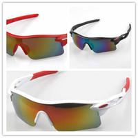 baseball frames - Sunglasses Khan Polarized Mirror Lens Mens Fishing Cycling Baseball Sport Wrap Sunglasses Outdoor Riding Explosion Proof Windproof Colorful