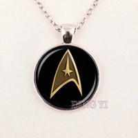 american medical sales - hot sale star trek command science medical or operations star trek pendant necklace best friend gift Fashion Jewelry DY13