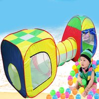 Wholesale Hot Sale Cubby Tube Teepee Tent Children Tunnel Kids Adventure House Tent Game Tunnel Wigwam Indoor Outdoor Garden Game