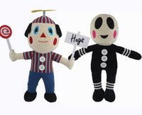 balloon clown - 30cm five nights at freddy s bear freddy foxy Clown Balloon Boy kids toys christmas gift stuffed plush doll EMS