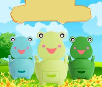 Wholesale Increase the number of children frog baby toilet toilet drawer baby child will be potty toilet potty stool