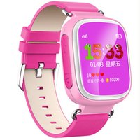 apple iphone locator - Q60 Smartwatch Kids Safe Wristwatch LBS Location SOS Call Anti lost Function Tracker Locator for iPhone Samsung Smartphone