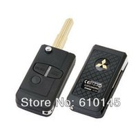 Wholesale K554 remote key shell folding car key super small version mitsubishi car key