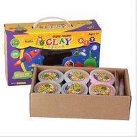Wholesale 12 Blocks DIY Craft For FIMO Soft Polymer Modelling Clay Plasticine Block Educational Toy diy wedding craft