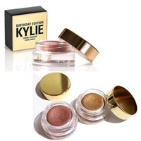 Wholesale hot Kylie Birthday Edition Creme Shadow Copper Rose Gold Limited Edition Birthday Collection Metals Eye Shadow