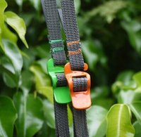 Wholesale Outdoor travel equipment fasten belt bind rope Luggage taut band Stainless steel belt hook type quick solution meters long