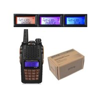Wholesale HOTSELLING Baofeng UV R MHz MHz Dual Band Two Way Radio with mAh Large Capacity Battery