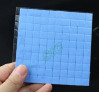 Wholesale 500 Blue GDT x10mm GPU SMD DIP IC Chip Xbox PS PC VGA Chipset x10x2mm paste Silicone Conductive Thermal Pad