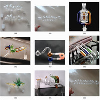 venda por atacado óleo de cozinha-Centenas de Acessórios para Fumar Pipas tubos de vidro de água óleo RIGOS Vidro Pipe Fittings Potenciômetro Smoking Tubos de vidro para bongos