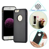 apple tile - Anti Gravity Selfie Case for Apple iPhone s iphone7 iphone6 Plus Magical Antigravity Nano Suction Stick to Glass Tile Cases Phone Shell