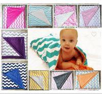 baby bedding stripes - Baby Ins Handmade Blankets Infant Stripe Zigzag Swaddle Chevron Wrap Newborn Swaddling Fashion Stroller Manual Blanket Nursery Bedding B1073