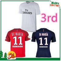 army uniforms - French Di Maria Soccer Jerseys Jersey Football Uniforms Discount CAVANI Verratti T SLIVA Ibrahimovic shirts