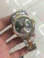 best slate - Watch Luxury Wristwatches Slate Green Dial Roman Mark mm K Gold Steel Men s Wrist Watch Man Wristwatch Best Gift