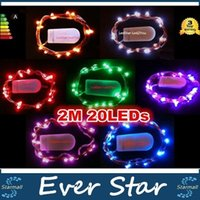 Wholesale CR2032 Button Battery Operated M Micro Led String Lights Led Fairy Light For Christmas Xmas Party Wedding Decor