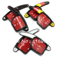 Wholesale NEW Pairs Steering Wheel DSG Direct Shift Gear Paddle Extension Gear Switch A3 A4L A5 A6 A7 A8 S5 Q5 Q7 TT