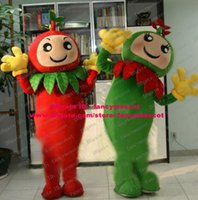 apple seedling - Lively Green Red Tomato Love Apple Plantlet Seedlings Young Plants Mascot Costume Cartoon Character Mascotte Circle Eyes ZZ504