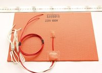 Wholesale 200mm X mm W V w NTC K Thermistor Keenovo Silicone Heater D Printer Heatbed First Grade Quality Guaranteed