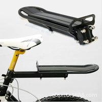 Wholesale 2016 New MTB Bike Bicycle Aluminum Alloy Rack Carrier Panniers Bag Carrier Adjustable Rear Seat Luggage Cycling Shelf Bracket