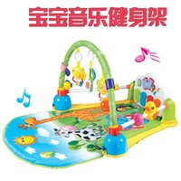 Wholesale Children s piano gym baby with music toys months newborn babies early childhood fitness