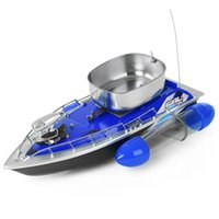 adventure boat - 3 Colors RC Wireless Fishing Lure Bait Boat Mini RC Fishing Adventure Lure Bait Boat with US Plug EU Plug for Finding Fish