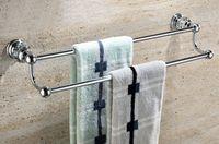Wholesale Brass Crystal Made chromeTowel Bar Towel Holder Towel Rack Solid brass GY003