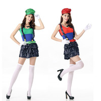 adult fairytale costumes - Halloween Clothes Cosplay Women Fairytale Character Ladies Sexy Costumes Dress New Cute Dress Costumes for Adults