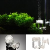Wholesale acuarios in Aquarium CO2 Diffuser Regulator Check Vavle Bubble Count U Shape Tube Sucker Fish Tank Plant Accessory Tool
