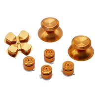 abxy bullet buttons - Joysticks Kit for PS4 Metal Bullet Thumbsticks with ABXY Bullet Buttons and D pad for Sony PS4 DualShock Controller Mod Kit