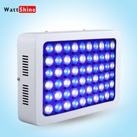 aquarium lighting cheap - 180W Dimmable LED Aquarium Light Cheap saltwater fish tanks Corel Reef Marine Fish Tank Growth Lamp AC V X3W White light