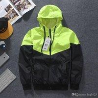 Wholesale Men Jacket Autumn Patchwork Reflective m Jacket Hip Hop Waterproof Windbreaker Men Coat