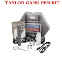 bg micro - TAYLOR GANG Micro BG Pen dry herbal vaporizer kit Snoop dogg Wax Vaporizer Pens for Dry Herb with Gift Box Mulit Colors jag pen
