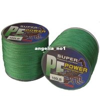 Wholesale m PE dyneema FISHING LINE top grade braided LB lb